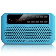 飞利浦 SBM120BLU/93 便携式插卡音响 FM收音机(蓝色)