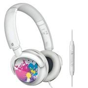 飞利浦 SHL8807 可换耳罩贴纸 带麦 IPNONE 头戴式 耳机 白色