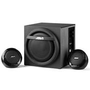 爵崴 音箱 H301 木质2.1声道无螺钉高精密嵌套技术低频传导保真传送 黑色