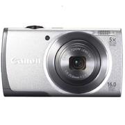 佳能 A2600 数码相机 银色(1600万像素 3英寸液晶屏 5倍光学变焦 28mm广角)
