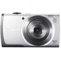 佳能 A2600 数码相机 银色(1600万像素 3英寸液晶屏 5倍光学变焦 28mm广角)产品图片主图