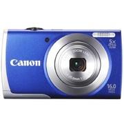 佳能 A2600 数码相机 蓝色(1600万像素 3英寸液晶屏 5倍光学变焦 28mm广角)