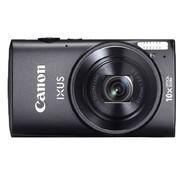 佳能 IXUS255 HS 数码相机 黑色(1210万像素 3英寸液晶屏 10倍光学变焦 24mm广角 Wi-Fi传输)