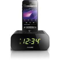 飞利浦 AJ3275D iPhone5/iPod专用音乐充电基座家用音响 时钟收音机 黑色产品图片主图