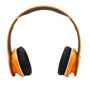 冲击波 SHB-906BH 包耳头戴式蓝牙耳机 HiFi立体声 可折叠+内置麦克风 甜蜜橙