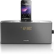 飞利浦 AJ7245D/93 iPhone5/iPod专用音乐充电基座家用音响 时钟收音机 黑色