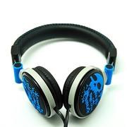 海威特 H83D 时尚潮流头戴式音乐耳机/双边线 蓝色