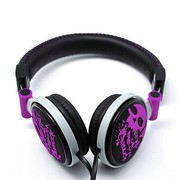 海威特 H83D 时尚潮流头戴式音乐耳机/双边线 紫色