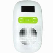 喜来乐 V3 多功能散步机便携插卡微型小音箱 青苹绿