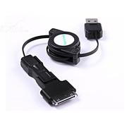 Hamimelon 三合一伸缩Micro USB Mini USB iPhone数据线
