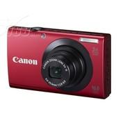 佳能 A3400 IS 数码相机 红色(1600万像素 3英寸触摸液晶屏 5倍光变 28mm广角)