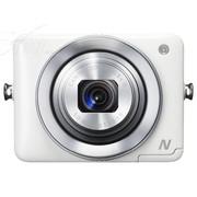 佳能 PowerShot N 数码相机 白色(1210万像素 2.8英寸上翻式触摸屏 8倍光学变焦 WiFi传输)