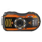 宾得 WG-3 数码相机 橙色(1600万像素 3英寸液晶屏 4倍光学变焦 25mm广角)