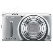 尼康 S9500 数码相机 银色(1811万像素 3英寸液晶屏 22倍光学变焦 25mm广角)