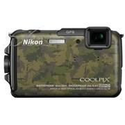尼康 AW110s 数码相机 迷彩(1605万像素 3英寸液晶屏 5倍光学变焦 28mm广角)