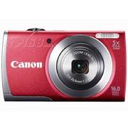 佳能 A3500 IS 数码相机 红色(1600万像素 3英寸液晶屏 5倍光学变焦 28mm广角 WiFi传输)