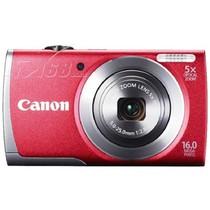 佳能 A2600 数码相机 红色(1600万像素 3英寸液晶屏 5倍光学变焦 28mm广角)产品图片主图