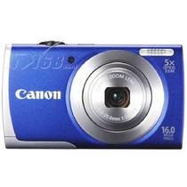 佳能 A2600 数码相机 蓝色(1600万像素 3英寸液晶屏 5倍光学变焦 28mm广角)产品图片主图