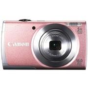 佳能 A2600 数码相机 粉色(1600万像素 3英寸液晶屏 5倍光学变焦 28mm广角)