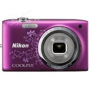 尼康 S2700 数码相机 紫色(1602万像素 2.7英寸液晶屏 6倍光学变焦 26mm广角)