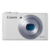 佳能 S110 数码相机 白色(1210万像素 3英寸触摸屏 5倍光学变焦 24mm广角)