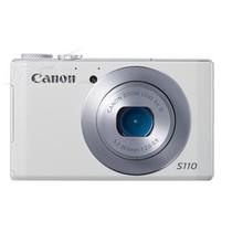 佳能 S110 数码相机 白色(1210万像素 3英寸触摸屏 5倍光学变焦 24mm广角)产品图片主图