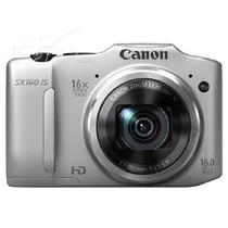 佳能 SX160 IS 数码相机 银色(1600万像素 3英寸液晶屏 16倍光学变焦 28mm广角)产品图片主图