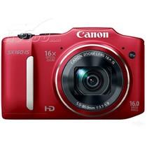 佳能 SX160 IS 数码相机 红色(1600万像素 3英寸液晶屏 16倍光学变焦 28mm广角)产品图片主图