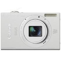 佳能 IXUS510 HS 数码相机 白色(1010万像素 3.2英寸触摸液晶屏 12倍光学变焦 28mm广角)产品图片主图