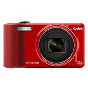 柯达 FZ151 数码相机 红色(1615万像素 3英寸液晶屏 15光学变焦 24mm广角)