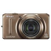 尼康 S9200 数码相机 棕色(1602万像素 3英寸液晶屏 18倍光学变焦 25mm广角)