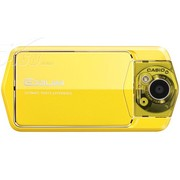 卡西欧 TR200 数码相机 黄色(1210万像素 3英寸液晶屏 21mm广角)