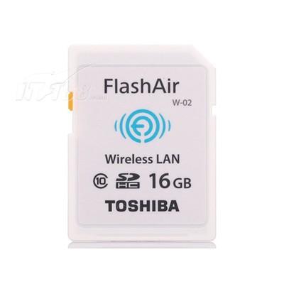 东芝 FlashAir 无线局域网嵌入式SDHC卡(16GB)/SD-R016GR7AL01产品图片1