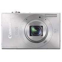 佳能 IXUS500 HS 数码相机 银色(1010万像素 3英寸液晶屏 12倍光学变焦 28mm广角)产品图片主图