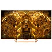 海尔 智臻 LD50H9000 50英寸窄边3D网络智能4K电视(玫瑰金)