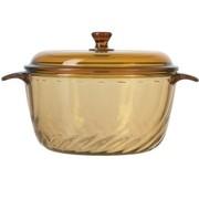 其他 法国进口ARC香榭丽琥珀 玻璃透明(螺纹)汤锅 炖锅 蒸煮锅  1.5L  LC-B61