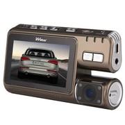 沃能 S95D 高清行车记录仪 3寸巨屏 带卡标配+8G