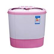 申花 XPB26-268S 2.6公斤半自动迷你小洗衣机(粉色)