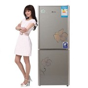 韩电 BC-143CM思语银 143L家用小型电冰箱 迷你双门冷藏冷冻节能冰箱
