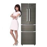 韩电 BCD-278DCL4 278L 家用多门冰箱 冷藏冷冻节能电冰箱 咖啡金