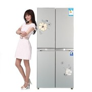 韩电 BCD-387DCV4J 387升多门冰箱(风雅银)