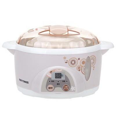 天际 DDZ-10KD 微电脑电炖盅 隔水炖盅 1升 300W 隔水炖煮营养更美味(粉色)产品图片1