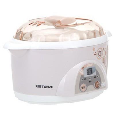 天际 DDZ-10KD 微电脑电炖盅 隔水炖盅 1升 300W 隔水炖煮营养更美味(粉色)产品图片3