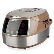 九阳 JYF-40FS09 智能时尚电脑型电饭 煲触摸控制 陶晶内胆 咖啡色 4L 24小时预约 可制蛋糕 酸奶
