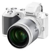 尼康 V2 微单套机 白色(VR 10-100mm f/4-5.6 镜头)
