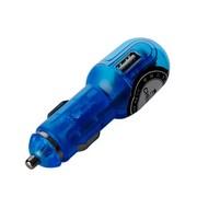 其它 【热卖年货】CHEMAS车载USB充电器车载电源适用于IPhone诺基亚摩托罗拉三星、索 蓝色