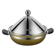 其他 Debo德铂 汤蒸锅德国工艺医用不锈钢26cm汤锅+蒸片高效节能汤蒸锅DEP-135