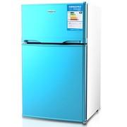 SKG 3513家用双门冰箱(梦幻蓝)90L