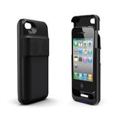 Movewell iPhone 4/4S 苹果背夹电池 移动电源 手机保护套 内置喇叭  1800毫安