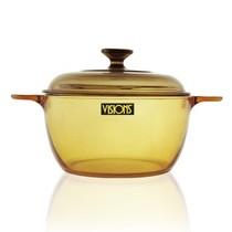 康宁 锅 晶彩透明锅 琥珀色玻璃锅 煲汤锅 煲粥锅 烹饪锅具 2.5L VS-2.5产品图片主图